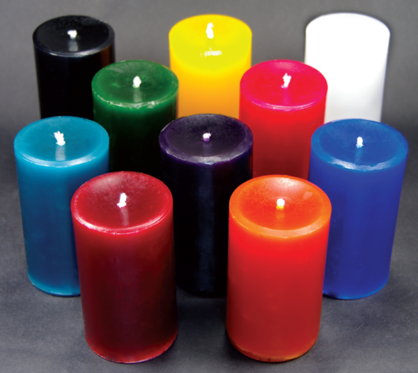 low temperature candles