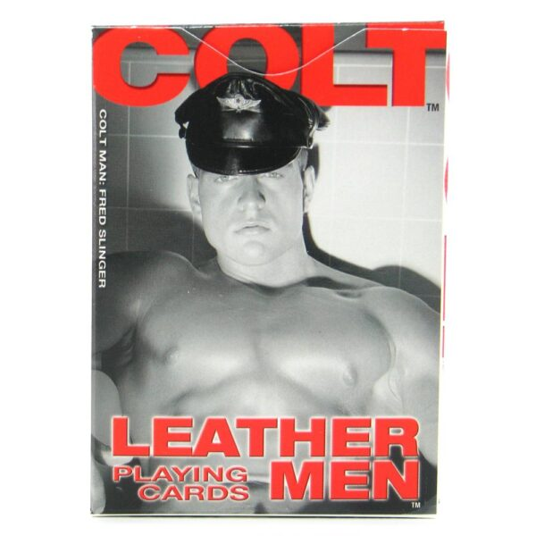 leather men cards