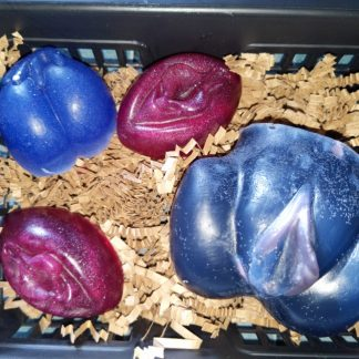 vulva soap basket